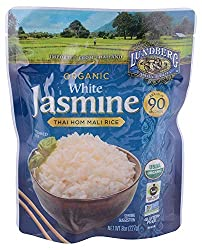 Lundberg Family Farms, Rice Jasmine White Thai Hom Mali Organic, 8 Ounce