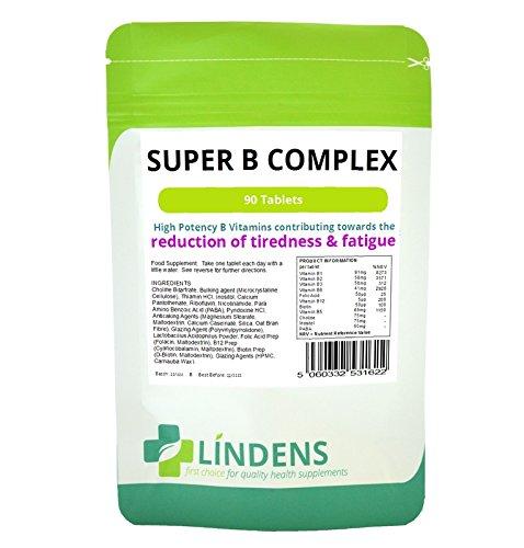 Super Vitamin B Complex w/ Probiotic 3-PACK 270 Tablets B1 B2 B3 B5 B6 B9 B12