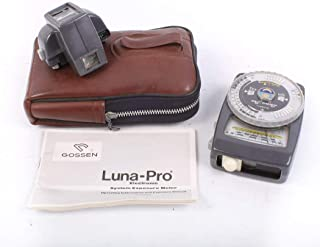 GOSSEN Luna PRO with Tele Variable Angle Attachment in CASE & Manual, Working
