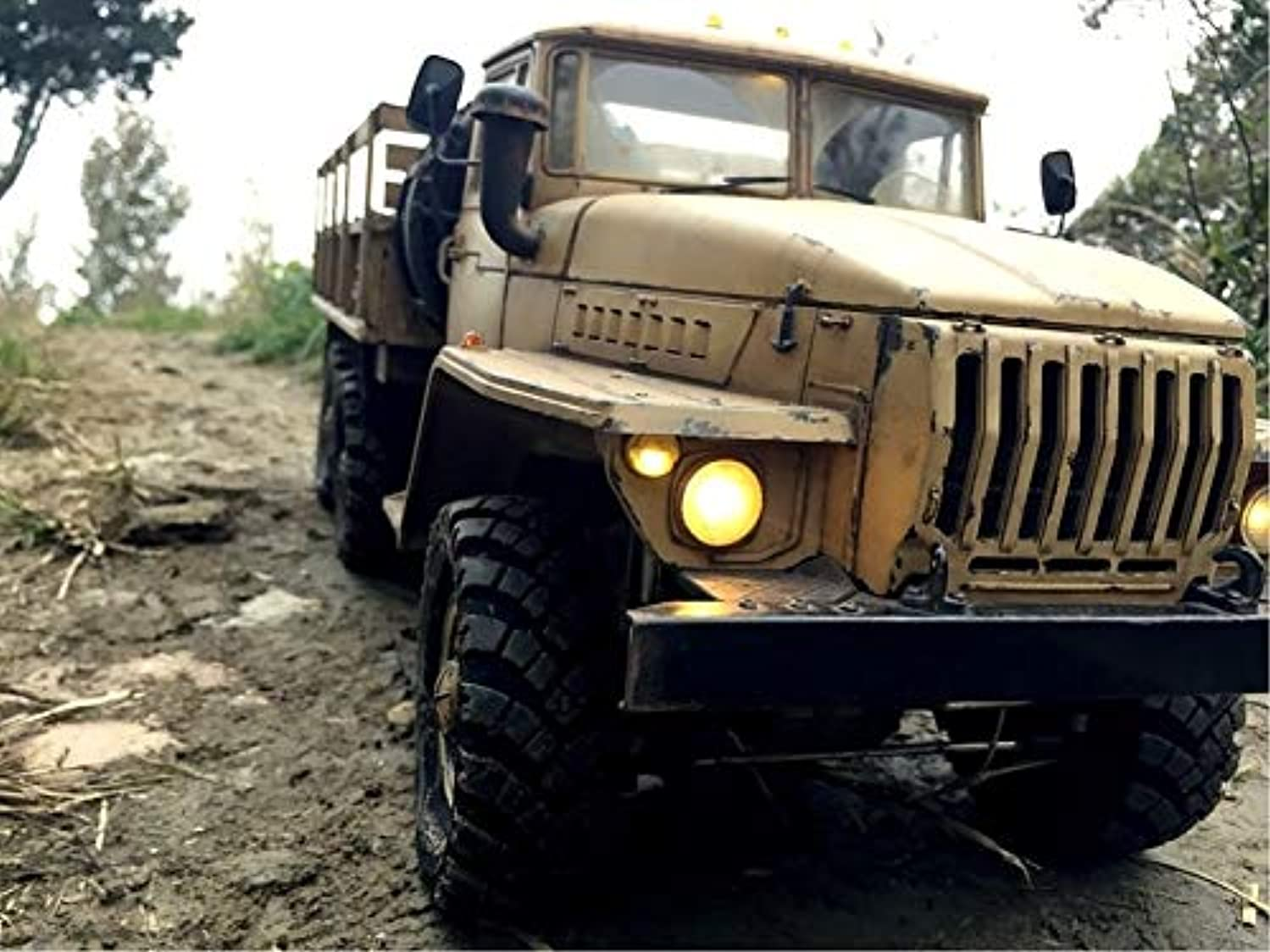 1/10 Scale Shinnied Cross UCC6 Off-Road Military Vehicles 6x6 Rock Crawler Truck Highly kit