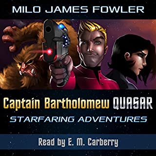 Captain Bartholomew Quasar: Starfaring Adventures audiobook cover art