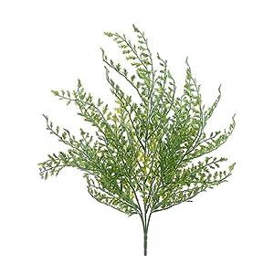 Silk Flower Arrangements Silk Plants Direct Fishtail Fern Bush (Pack of 24)