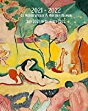 2021- 2022 18 Month Weekly & Monthly Planner July 2021 to December 2022: Henri Matisse - The Joy of Life- Monthly Calendar with U.S./UK/ ... in Review/Notes 8 x 10 in. Painting Artist