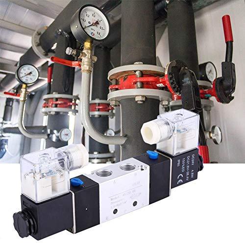 Salida de 1/4 pulgadas 1/8 pulgadas de control de flujo de regulación de precisión válvula neumática válvula electromagnética regulación de aire para sistema de aire (DC24V)