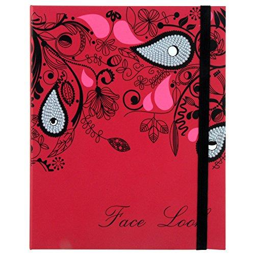 Gloss! Travel Beauty Book Palette de Maquillage Rose 42 Pièces
