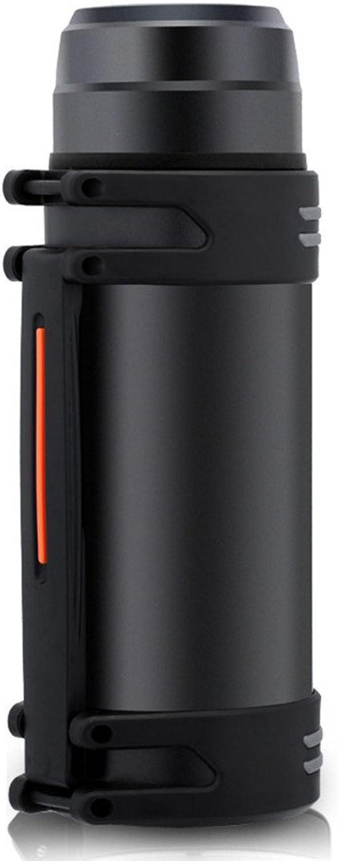 Bott Flasche, Sportflasche, Saugnapf, tragbarer Außenleck-Schutz, hergestellt aus Edelstahl Sportschale mit Schwarz B07QC9SPXL  Bestseller