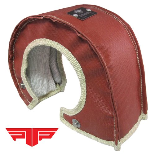 PTP 000506 T3 T4 Turbo Blanket/Turbo Shield/Heat Shield - Red