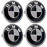 LODYPERO Mittelrad Radnabenkappen, 68 Mm Felgen Radkappen Für BMW 3 5 6 7Er X6 X 5 X3 Z3 Z4-4Er-Set