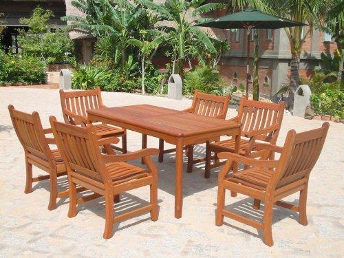 Sedex Gartengarnitur NEW JERSEY 7-tlg Sitzgruppe aus Massivholz kaufen  Bild 1*