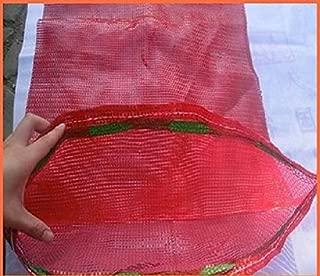 20sacos tejidos de malla para verduras, leña, madera