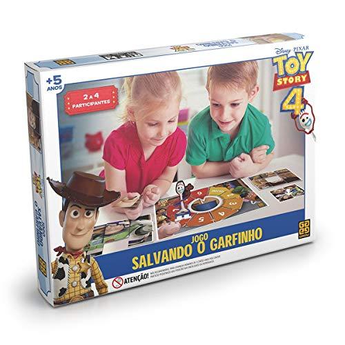 Jogo De Tabuleiro Toy Story4 Salvando Garfinho Grow Multicor