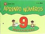 Aprendo Números. Cuaderno 9 - 9788431654443