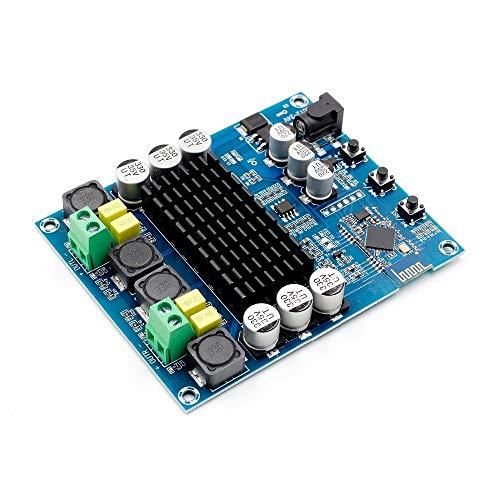 JCMY Termostato 2x120W Amplificador de Audio Digital de Doble Canal Bluetooth TPA3116D2 XH-M548 Amplificador de Audio para el hogar, la Estera de plántulas, la incubaci