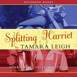 Splitting Harriet audiobook cover art