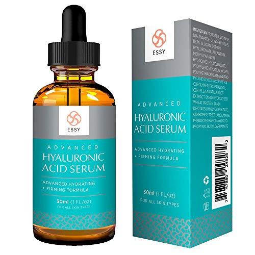 Maycreate Hyaluronsäure Serum, Anti Aging Serum für empfindliche Haut, Fältchen & zur Aknebehandlung, Faltencreme, sofortige, Feuchtigkeit, Festigkeit, Fülle und Aufhellung (Vegan)