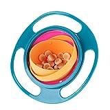 Neuheit 360° Dreh-Gyro-Schüssel Spill-Proof Kinder Balance Schüssel (1)