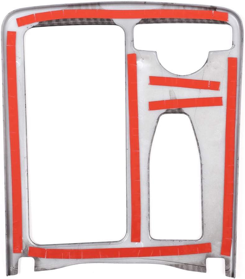MoreChioce ABS Portabicchieri per Acqua per Auto Copertura del Telaio Decorazione del Pannello Compatibile con Classe E W212,Argento Destra Pannello Portabicchieri della Console Centrale Trim