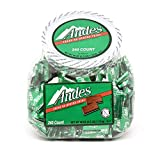 Tootsie Roll, Andes Crème de Menthe Individually Wrapped, Thin Mints, 240 Count by Charms