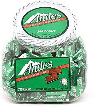 Andes Creme de Menthe Thin Mints 240-Piece Tub
