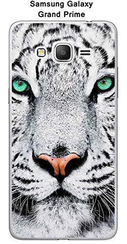 Onozo Coque Samsung Galaxy Grand Prime - SM-G531F Design Tigre Blanc