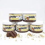 Cioccolata Proteica spalmabile PROTOCREAM Line@ cacao e nocciole soli...
