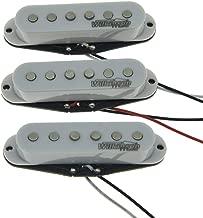 Wilkinson Lic White ST Strat Vintage Voice Single Coil Pickups Fits Stratocaster