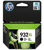 HP 932 XL CN053AE, Cartuccia Originale, da 1.000 Pagine, Compatibile con Stampanti a Getto di Inchiostro HP OfficeJet 6100, 7610 e 7612; HP OfficeJet 6600, 6700, 7110 e 7510, Nero