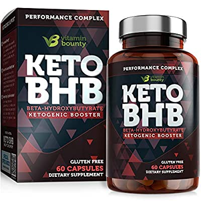 Keto BHB Exogenous Ketone Supplement - Beta Hydroxybutyrate Ketone Salt Pills