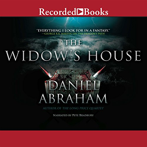 The Widow's House audiobook cover art