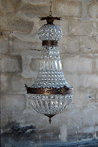 Korblüster, Kristallüster, Deckenlüster Brissago H 70