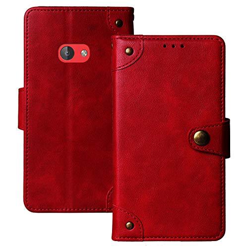 Lankashi Flip Brief Tasche Hülle Schütz Hülle Für Nokia 210 2.4