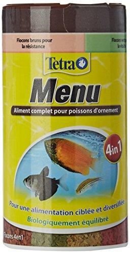 TETRA TetraMin Menu - Aliment Complet en flocons pour Poissons tropicaux - 250ml