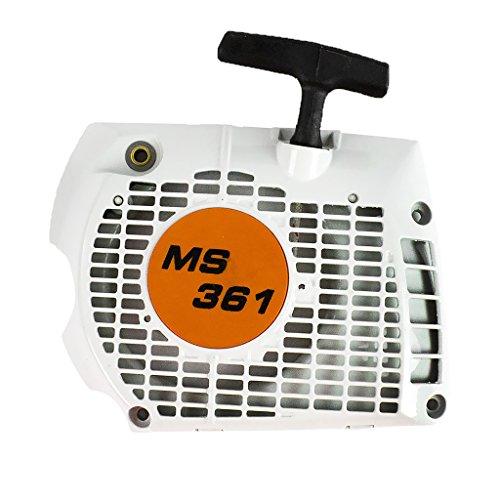 MonkeyJack Recoil Rebobinador de arranque para motosierra STIHL MS341 361