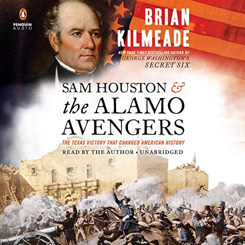 Sam Houston and the Alamo Avengers cover art