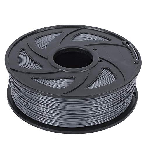 EBTOOLS1 PLA Druckerfilament, 3D Drucker Verbrauchsmaterial, 3D Printer Filament, Grau 1,75 mm Durchmesser Druckmaterial, 3D Drucker Filament, Druckerzubehör für 3D Drucker