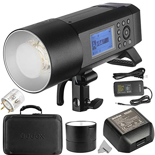 Godox WITSRO AD400Pro Bowens Mount All-in-One Outdoor Flash Light Speedlite TTL Auto-Flash GN72 1/8000s HSS 2.4G Wireless X System Built-in Lithium Battery