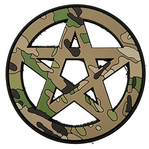 TACOPSGEAR Wicca - 3D PVC Rubber Patch Religion Camoflage