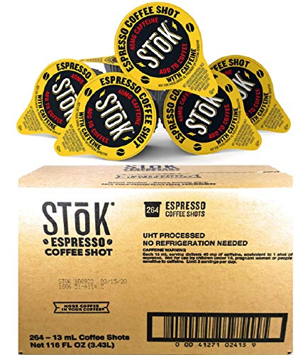 264 StoK Espresso Shots in Factory's Box.