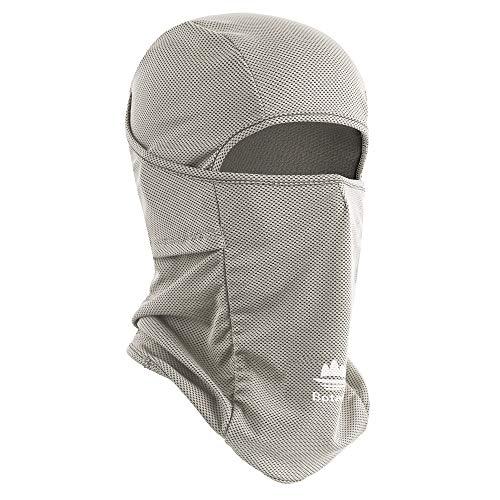 Botack Balaclava Face Mask Sun UV Protection Breathable Full Head Mask for Men Women Cycling Grey