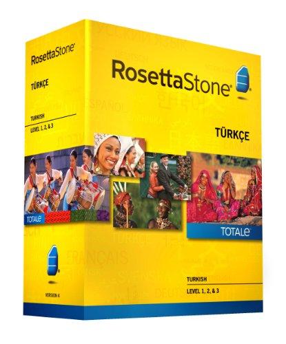Rosetta Stone Version 4 TOTALe : Turkish Level 1, 2 & 3 [import anglais]