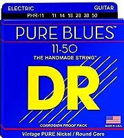 DR エレキ弦 PURE BLUES ニッケル .011-.050 PHR-11