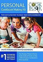 パーソナライズされた料理本作成キット – 将来の世代に家族レシピを保存 – 迅速、便利、使いやすい(プリント料理本1冊付きパーソナライズキット)