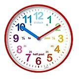 Acctim 22524 Wickford - Reloj de pared, color rojo