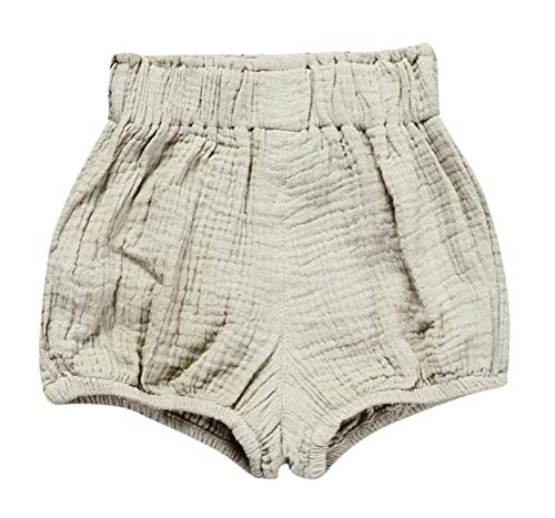 LOOLY Unisex Baby Girls Boys Cotton Linen Blend Bloomer Shorts ,80,Color