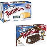 Hostess Twinkies Original & Chocolate Cake Twin Pack - 20 Cakes …