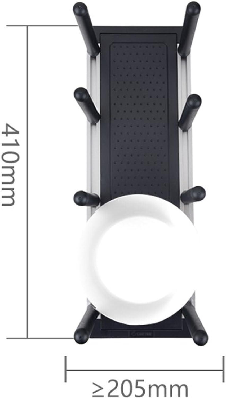 Kitchen Supplies Shelves- Bowl Disk Storage Shelf, Drain Shelf -by TIANTA (color    2, Size   Disk Shelf)