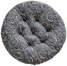 Cotone Coton Poliestere DaoRier Cuscino Sedile Cuscino Sedia 40x40cm Cuscino Opaco Cuscino Sedia Cuscino Interno ed Esterno per Sedia a rotelle Divano da Giardino casa Ufficio 40 * 40 cm Bianco