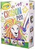 Crayola Ultimelt - Lápiz para fusión de lápices para manualidades, multisuperficie