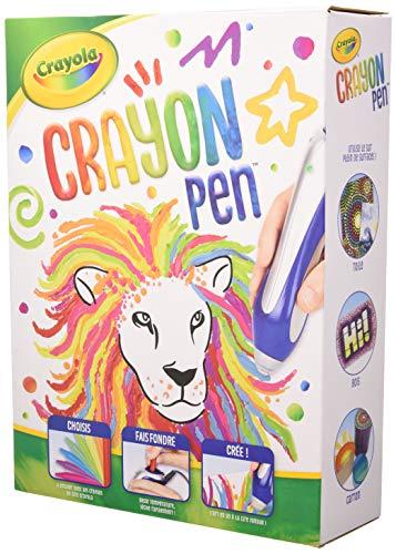 Crayola Ultimelt Bolígrafo, kit creativo de crayón para manualidades, multisuperficie