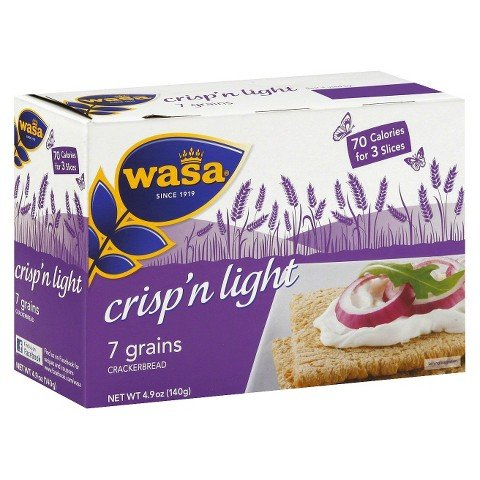 Wasa Crisp'n Light 7 Grains Crackerbread 4.9 oz